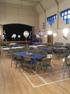gloucester hall layout 25th anniversary