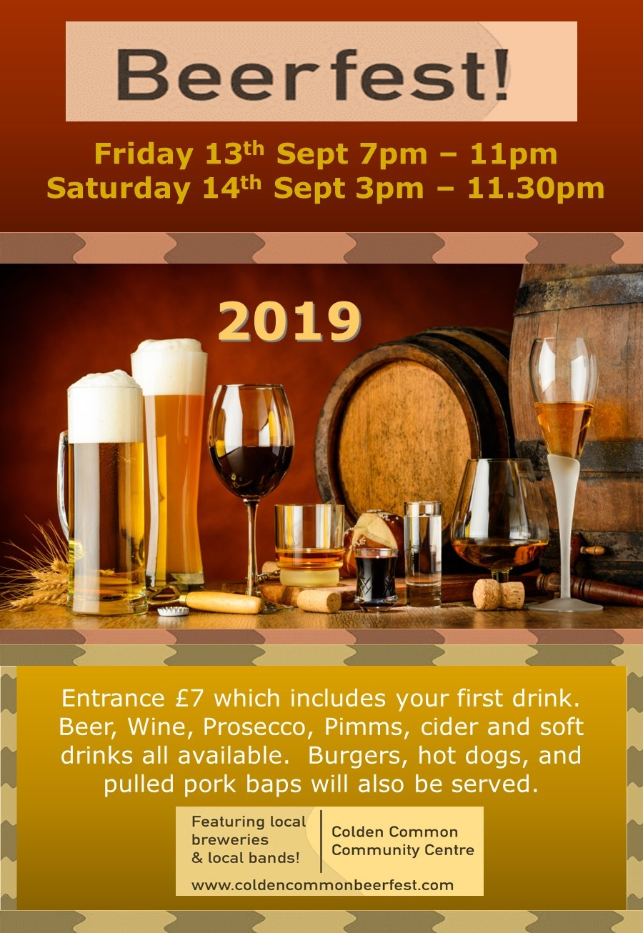 Beer Fest 2019 Promotional Poster