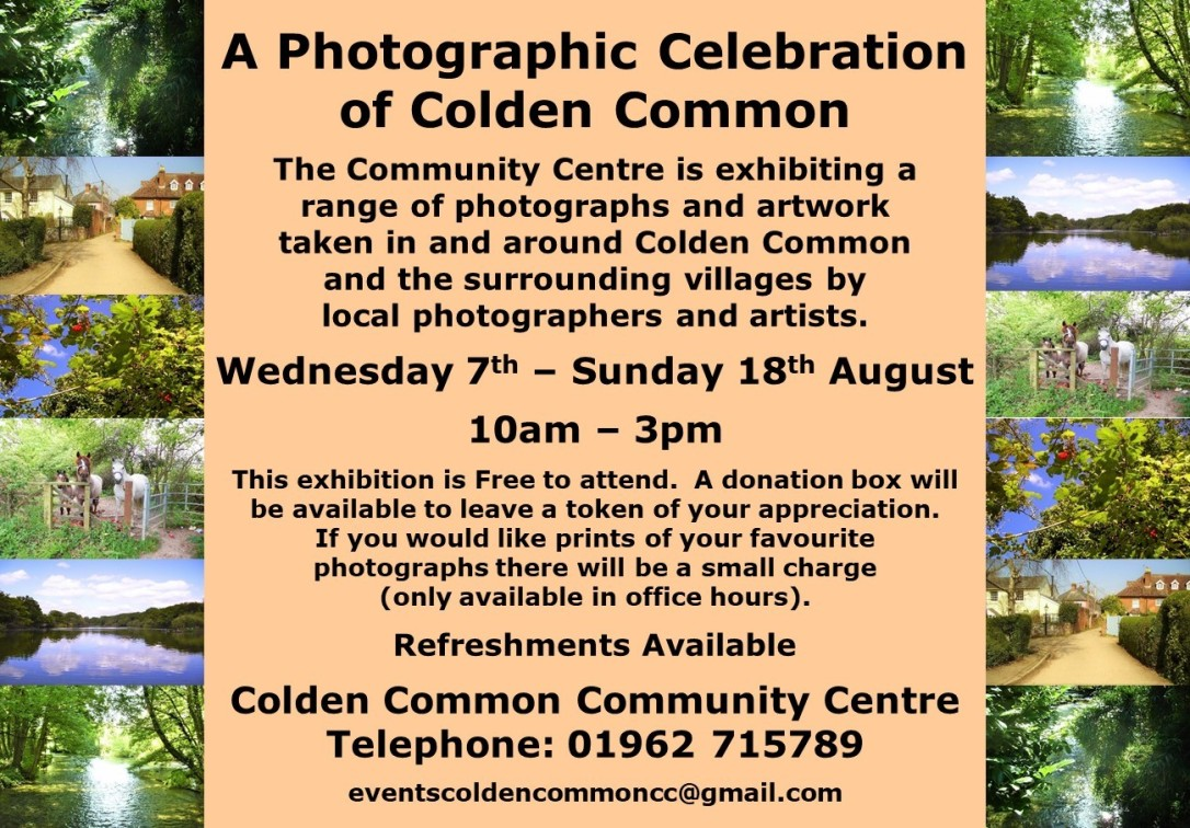 Photographic Exhibition Flyer