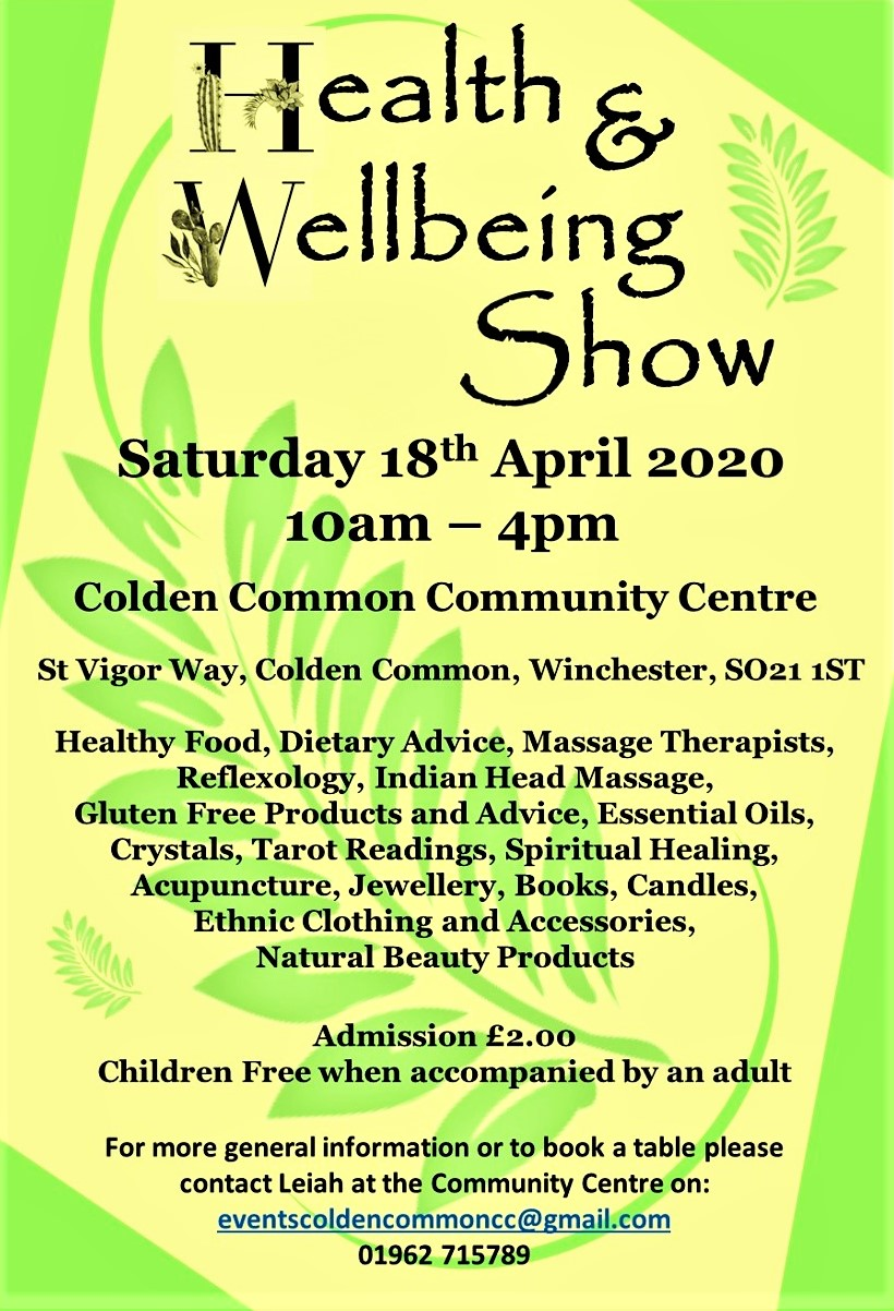 Health & Wellbeing Show Poster JPG