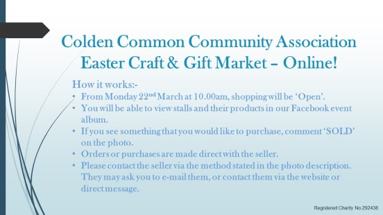 Easter Market - how it works