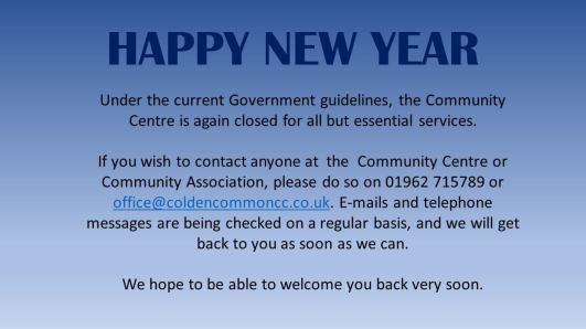 January closure